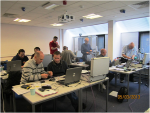 Certified Training taking place